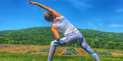 Yoga at Weed Orchards & Winery