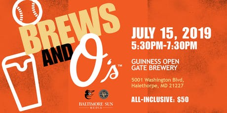 Brews & O's tickets