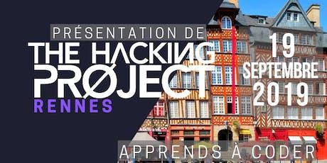 The Hacking Project Rennes automne 2019 (présentation gratuite) billets