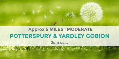 POTTERSPURY AND YARDLEY GOBION CIRCULAR WALK | APPROX 5 MILES | MODERATE tickets