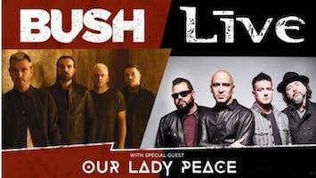 + LIVE + & Bush