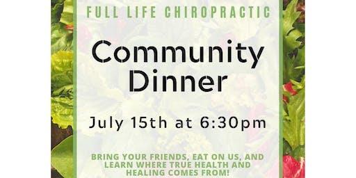 FREE Community Dinner!