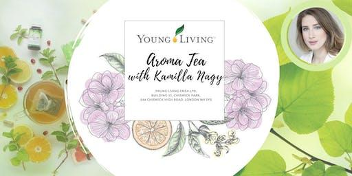 Aroma Tea with Kamilla Nagy