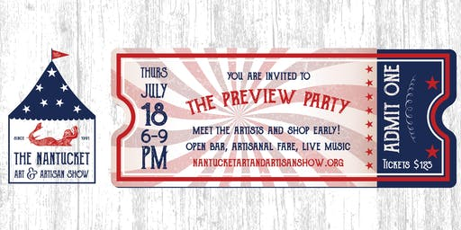 Nantucket Art and Artisan Show Preview Party