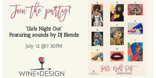"Wine & Design ""Girls Night Out"" Sounds by DJ Blendz"