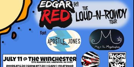 Edgar Red tickets
