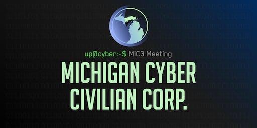 Michigan Cyber Civilian Corp (MiC3) Informational Meeting