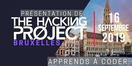 The Hacking Project Bruxelles automne 2019 (présentation gratuite) billets
