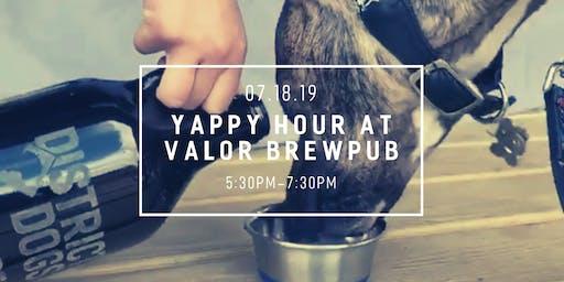 Yappy Hour at Valor Brewpub