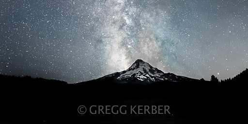Milky Way over Mt Hood (9/11)
