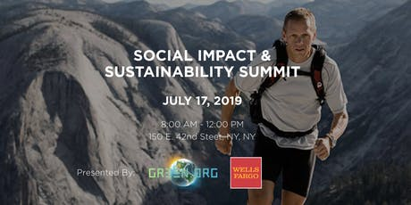 Wells Fargo & Green.org: Social Impact & Sustainability Summit  tickets