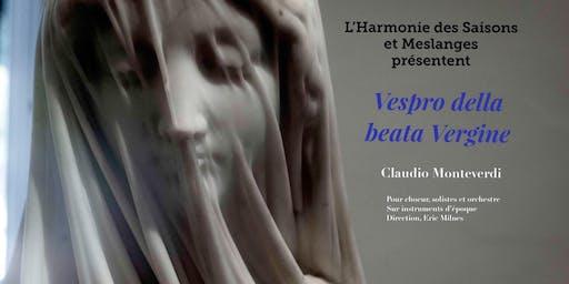 Les Vêpres de la Vierge de Monteverdi