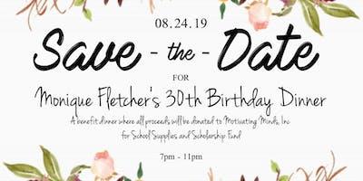 Monique's 30th Birthday Fundraiser