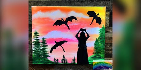 2 for 1! Mother of the Dragons: Pasadena, Greene Turtle with Artist Katie Detrich! tickets
