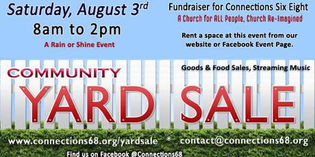 Community Yard Sale tickets