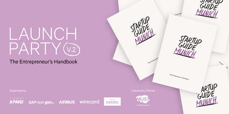 Startup Guide Munich Launch Party tickets
