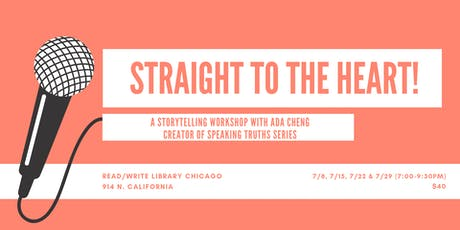 Straight to the Heart!: A Storytelling Workshop with Ada Cheng tickets