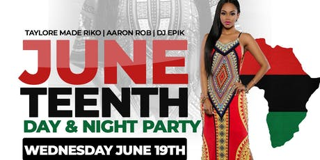 Juneteenth Day & Night Party at Minnie's Rythm Cafe | 5pm-2am tickets