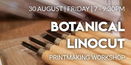 Botanical Linocut Printmaking Workshop tickets