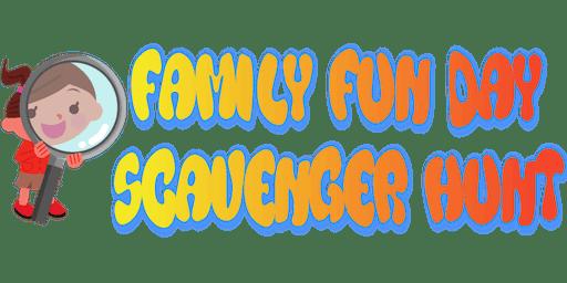 Volunteer for Family Fun Day Scavenger Hunt