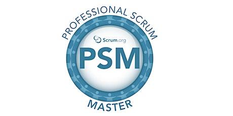 Professional Scrum Master - Rio de Janeiro - Março  ingressos