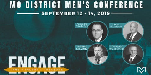 """ENGAGE"" MO Men's Conference 2019"