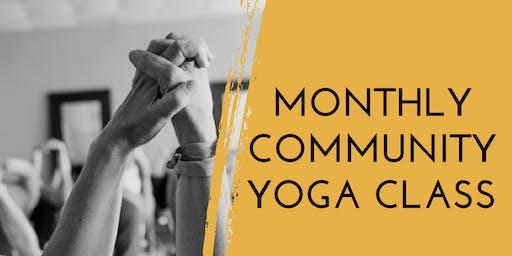 Donation Community Yoga