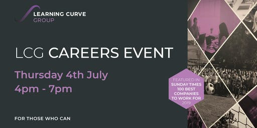 Careers Event with Learning Curve Group