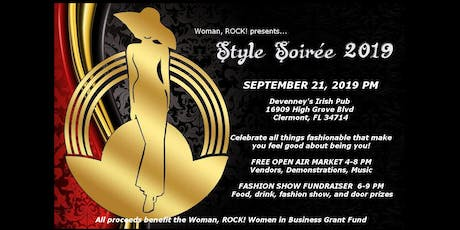 Woman, ROCK! presents Style Soirée, 2019 tickets