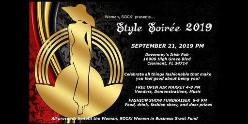 Woman, ROCK! presents Style Soirée, 2019