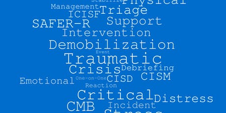 CISM Assisting Individuals in Crisis and Peer Support tickets