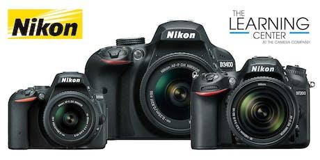 Nikon DSLR Intermediate 9/26 and 10/3 tickets