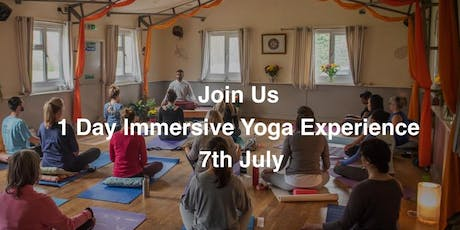 One Day Immersive Yoga Experience tickets