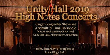 J. Schnitt and Gina Holsopple Live at Unity Hall tickets