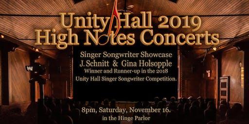 J. Schnitt and Gina Holsopple Live at Unity Hall