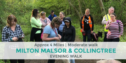 MILTON MALSOR AND COLLINGTREE | APPROX 4 MILES | MODERATE | NORTHANTS