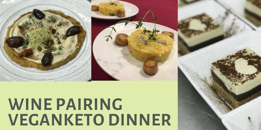 Wine Pairing with VeganKeto European Delights Soiree