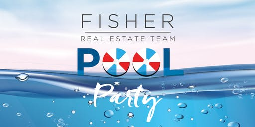 Fisher Team Pool Party