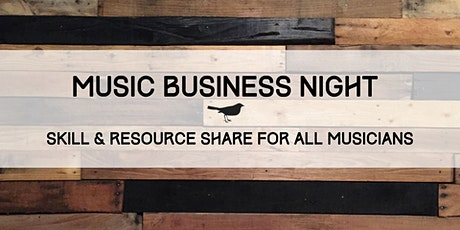 Music Business Night tickets