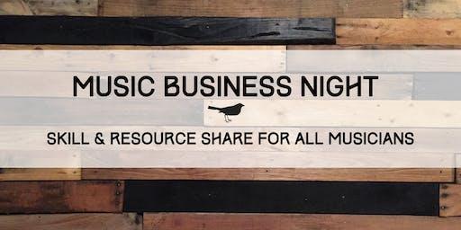 Music Business Night
