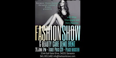 Fashion Show & Beauty Care Demo Event
