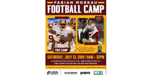 Fabian Moreau Summer Football Camp