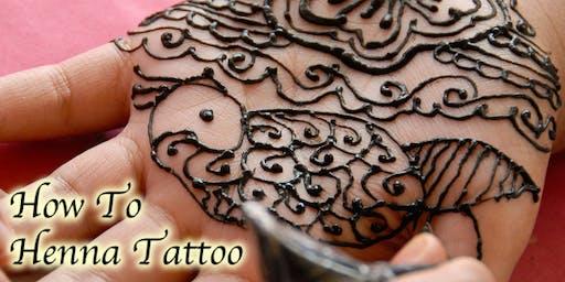 How to Henna Tattoo