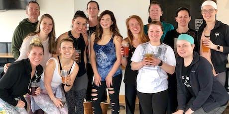 Patio Yoga - [Bottoms Up! Yoga & Brew] tickets