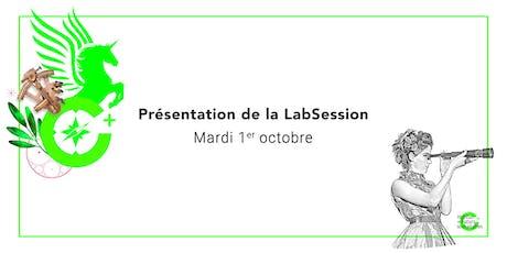 Présentation de la LabSession / 1er octobre tickets