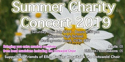 Cotswold Choir Summer 2019 Charity Concert
