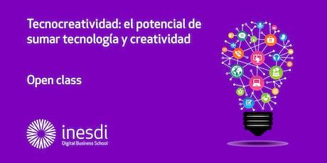 Tecnocreatividad: el potencial de sumar tecnología y creatividad  entradas