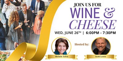 Join Us for a Wine & Cheese Mixer!