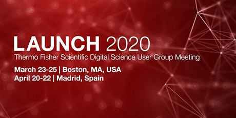 Launch 2020: Thermo Fisher Scientific Digital Science User Group Meeting (Europe) entradas