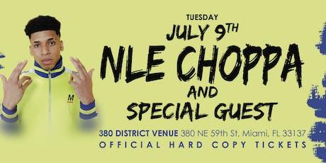NLE Choppa - Live in Miami  tickets